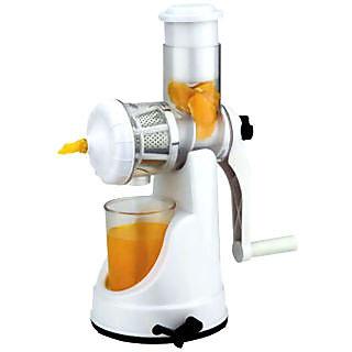 fruit juicer delux white