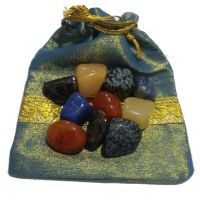 Healing Crystal Bag To Attract Job Opportunities - Reiki  Crystal Healing