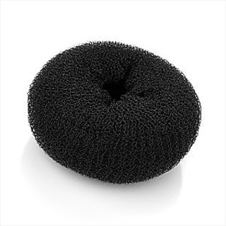 Chanderkash Hair Accessories Donuts Bun(Black)