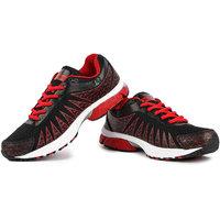 Austin-Prozone Mens Black Red Sport Shoes