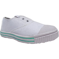 Super Divine Collections - Tennis / School Shoes For Boys  Girls - White