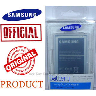 SAMSUNG ORIGINAL BATTERY EB595675LUCINU (NFC-ENABLED) FOR GALAXY NOTE 2- 3100mAh