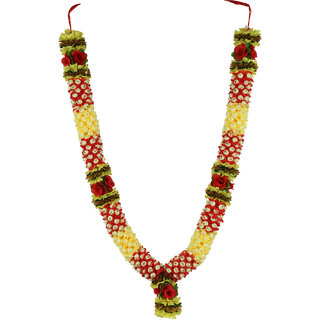 DECORATIVE HANDMADE ARTIFICIAL FLOWER GARLAND (MALA)