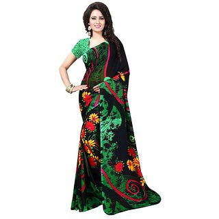 ROYALFASHION(RF) Multicolor Georgette