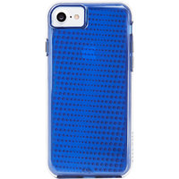 Case-Mate Tough Translucent Hard Back Case Cover for  iPhone 7 - Blue
