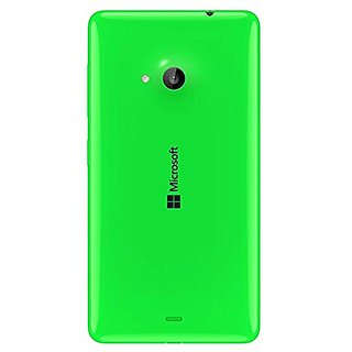 SAFAL - Back Replacement Battery Door Panel Housing Back Cover Case for Nokia Lumia 540 GREEN