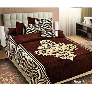 Akash Ganga Double Chenille Ethnic Bedcover (BC-63A)