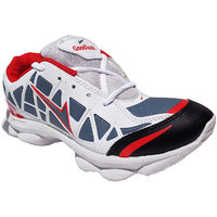Super Divine Collections - Goodlook / Running  Outdoor Sports Shoes-White  Red