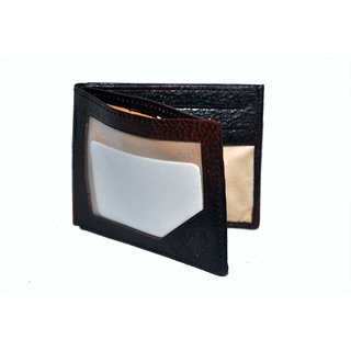 NoVowels Card Holder Hard Leather Brown (Synthetic leather/Rexine)
