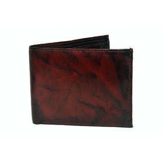 NoVowels Gents Wallets Soft Leather Brown (Synthetic leather/Rexine)