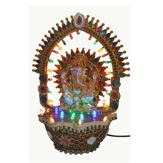 NoVowels Revolving Ganesh Chakra Best to Gift or Dcor Your Home