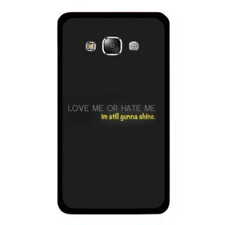 SLR Designer Back Case For Samsung Galaxy E5 ( E500 )