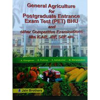 General Agriculture For Postgraduate Entrance Exam Test (PET) BHU and other Competitive Examinations like ICAR, JRF, SRF