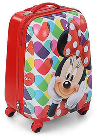 Minnie mouse kids luggage traveling trolley bag