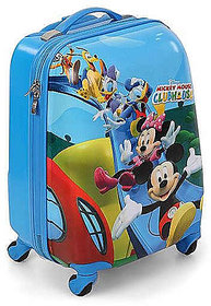 Micky mouse kids luggage travelling trolley bag