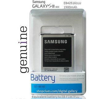 Samsung Original EB425161LU for Galaxy S3 SIII Mini I8190 EB-F1M7FLU