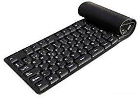 USB Flexible Folding Waterproof Keyboard For Laptop/ De