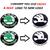 Skoda RAPID car Monogram Emblem Chrome Skoda Car Monogram Logo Emblem new