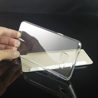 Samsung Galaxy On8 Transparent back cover  Crystal Clear soft back cover