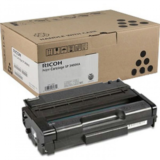 Ricoh Original Aficio SP 3400HS Black Toner Cartridge 406517
