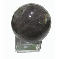 Amethyst Ball Reiki Healing Crystal Stone Of Concentration With Stand
