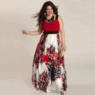 New Multi Colour Floor Touch Semi Stitched Designer Printed Gown