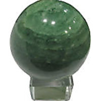 Green Aventurine Ball 50 To 60mm With Crystal Stand - Reiki  Healing Crystals