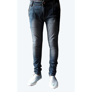 black narrow jeans