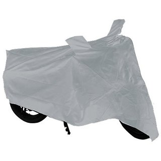 Varshine Body Cover for Suzuki Gixxer SF (Silver)