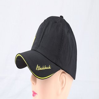 3b933ddbbc9 Black Buck Formal Sports Cap ( Black )