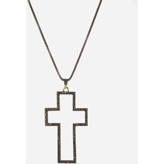 The99Jewel Silver Plated Statement Chain Pendant - AAB0476