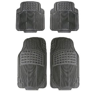 Varshine Rubber Foot Mats Grey For Maruti Swift old