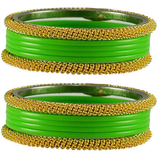 Totai Plain Acrylic-Brass Bangle