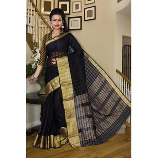 Silk India International Ltd Multicolor Organza
