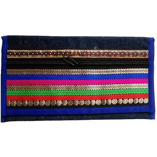 Attractive Colorful Design Clutch Handbag For Women And Girls