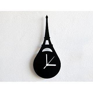 Beautiful Eiffel Tower Paris France Wall Clock