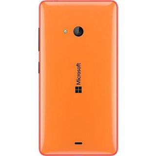SAFAL - Microsoft Nokia Lumia 540 Replacement Back Door Battery Panel Housing (Orange)