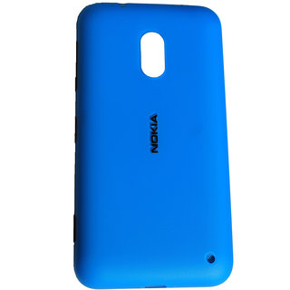 SAFAL - Replacement Battery Back Door Panel/Battery Back Cover Case For Nokia Lumia 620 - Blue