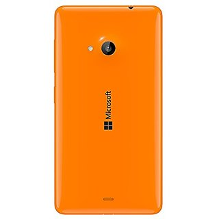 SAFAL - Replacement Battery Door Panel Housing Back Cover Case for Nokia Lumia 535 - ORANGE
