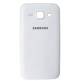 SAFAL - Replacement Battery Door Panel Housing Back Cover Case for SAMSUNG GALAXY J1 ACE - WHITE