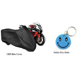 CBR BIKE Motorcyle Body Cover Silver Colour With Mirror Pocket's