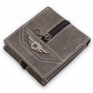 Military Dark Gray Multi Card Wallet