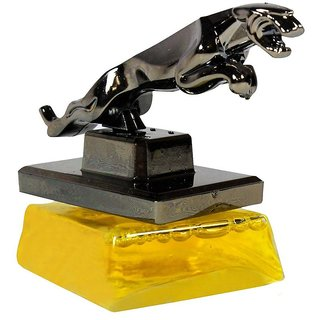 Pegasus Premium Classy Jaguar Refillable Car Perfume (Charming Yellow) For Aveo