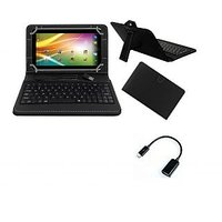 Krishty Enterprises 7Keyboard For Acer A1-713 HD Tablet- Black With OTG Cable
