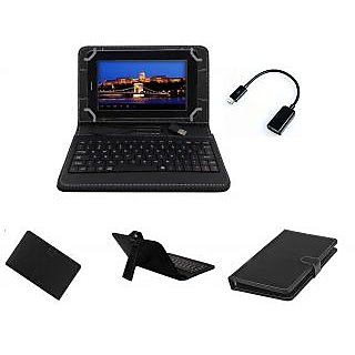 Krishty Enterprises 7Keyboard for Asus Nexus 7 Black with OTG Cable