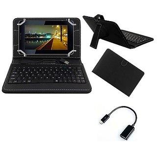 Krishty Enterprises 7inch Keyboard for DatawindUbiSlate 7C+ Black with OTG Cable