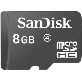 Sandisk 8GB Class 4 MicroSDHC Memory Card