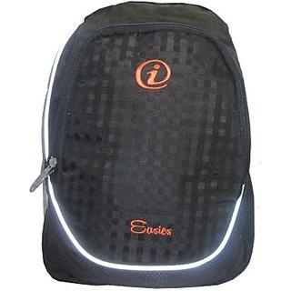 Easies LBP8071 25 L Large Laptop Backpack         (Black With Grey Sided) LBP8071BLACK