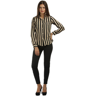 Abrati Striped Shirts