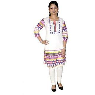 sanchit cotton printed kurti